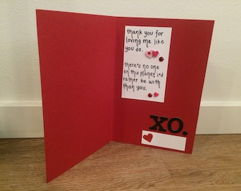 je t'aime valentine's day card