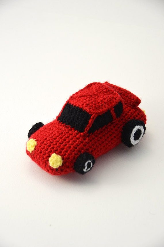 Race Car Crochet Pattern Race Car Amigurumi Sports Car