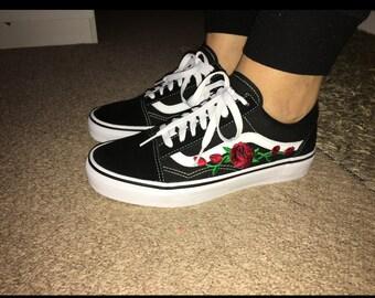vans shoes flower pattern nz