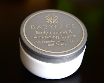 Babyface Firm Body - Firming & Anti-Aging ALL OVER Wrinkle Cream, 9 oz.