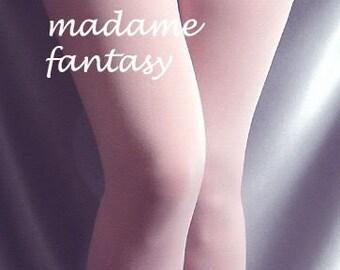Thin spandex stockings baby pink