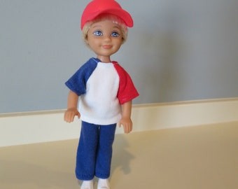 CHELSEA BOY Red White and Blue Outfit