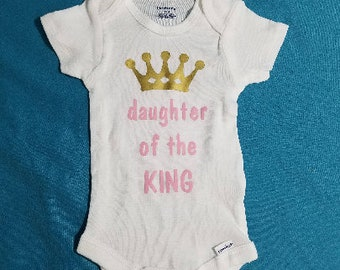 Daughter of the King Baby One Piece ~ Bodysuit