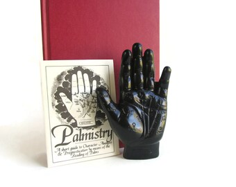 Palmistry Hand Figure - Choose Your Color - Fortune Telling - Palm Reading Hand - Gypsy Decor - Palmistry Gift - Spiritual Decor