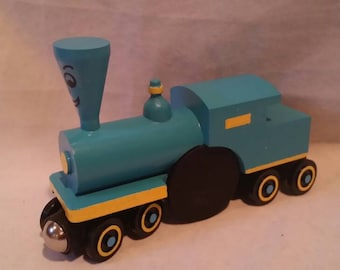 Whittle Style Little Engine That Could Traditional style custom wooden Train New