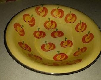 Bowl Decorative With Pumpkins
