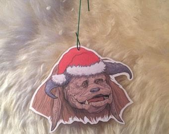 Labyrinth LUDO Christmas ORNAMENT!