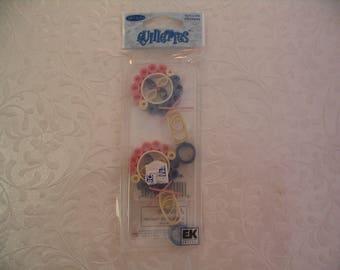 2  Piece Baby Quilling Stickers Embellishments Craft Scrapbook Supplies