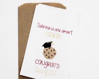 Graduation Favor Bags, Cookie Take Away Bag, Candy Buffet Bag, Graduation Cookie Bag, Favor Bag