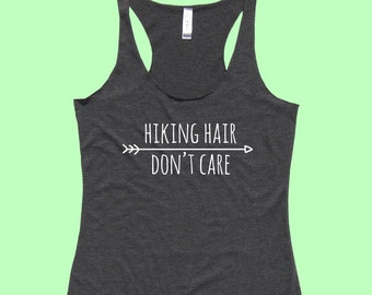 Hiking Hair Don't Care - Fit or Flowy Tank