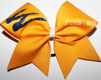 Beautiful allstar cheer bow on a budget - customize it ! - by Funbows