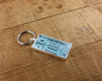 Rocky Point Park Ticket Keychain - Good On Any Ride