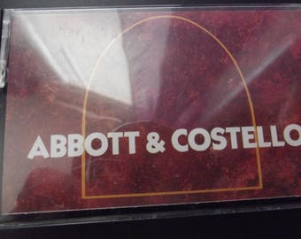 Vintage Cassette Tape with Abbott & Costello - Who's on First and Hunting For Lions