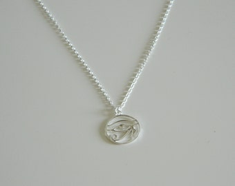 Cleopatra Necklace, Sterling Silver