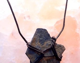Rock knot necklace
