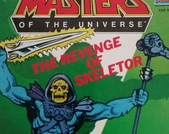 Books- Masters of the Universe, Revenge of Skeletor