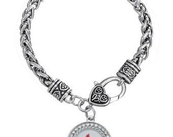 St. Louis Cardinals Charm Rope Bracelet