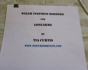Welsh Inspired Borders Handout