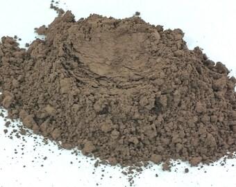 Brown Matte Eye Shadow  Medium Taupe Cosmetics Smokey Eyes  organic Makeup Eyeshadow Limited Ingredients Mineral Makeup Vegan Natural JERSEY