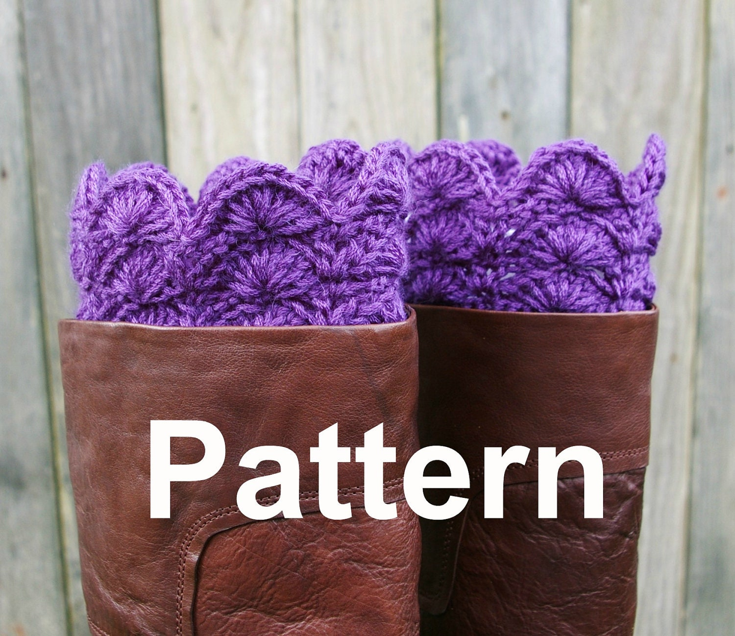 Pattern boot cuffs boot toppers instant download crochet pattern boot cuffs boot toppers instant download dt1010fo