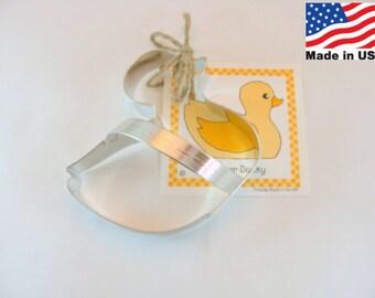 Rubber Ducky Metal Cookie Cutter by Ann Clark