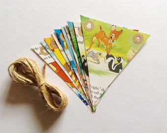 Bambi Bunting - Book Bunting - Classic Disney - Childrens Gift - Nursery Decor