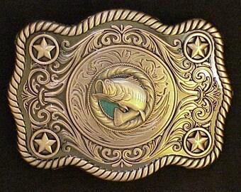 Bass Buckle Antique Copper