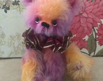 Matilda, Ooak mohair artist bear by Alaine Ferreira, Bearflair