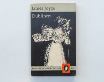 James Joyce Dubliners Cover Art by Brian Wildsmith Penguin Modern Classics