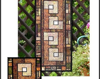 Garden Trellis Table Runner and Placemats PDF Quilt Pattern