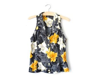Vintage Hawaiian blouse   XS