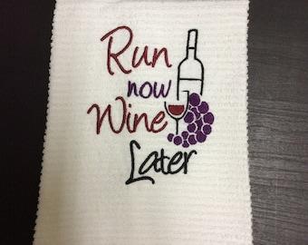 Wine Kitchen Towels