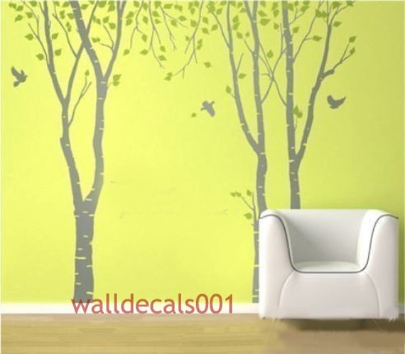 Tree Wall Decals Wall stickers wall decor nature room decor