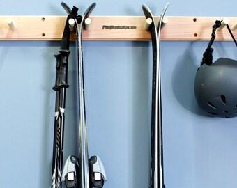Vertical Ski Wall Rack Mount