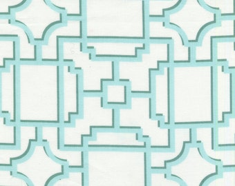 100% designer quilting cotton fabric by the yard, trellis fabric, lattice by Paula Prass for Michael Miller. More fabric yardage available.