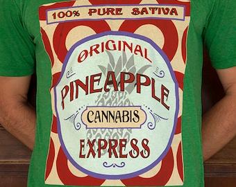 Pineapple Express Legendary Classic Cannabis Strain T-shirt