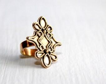 Metal Ring * Metalwork Jewelry * Unique Rings * Big Rings * Artisan Rings * Boho Rings * Boho Jewelry * Bohemian Rings * Artisan Jewelry
