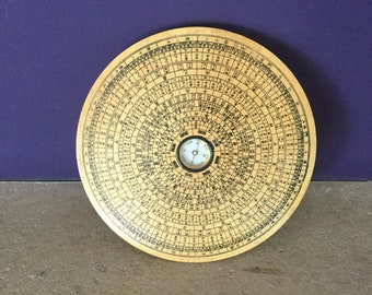 Chinese compass for Feng Shui