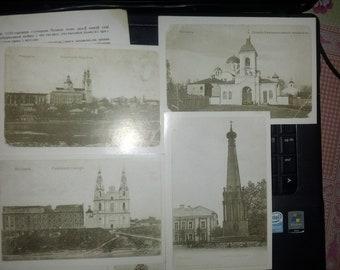 Polotsk on old postcards History and sights Belorussian postcards 1987 12 postcards