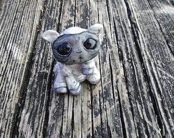 Cute Little Lamb Creature Scupture