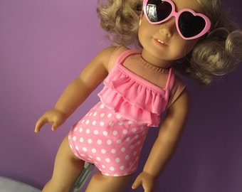 SALE Fits American Girl doll clothes bathing suit, swim suit, FREE SHIP