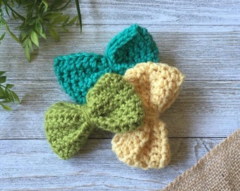 Boys Crocheted Bow Tie; Mens Clip On Bow Tie; Boys Bow Tie; Crochet Bow Tie; Crocheted Bow Tie; Clip On Bow Tie
