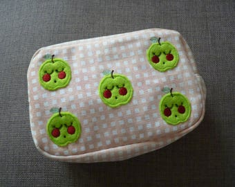 Bobbing Apples Cosmetic bag
