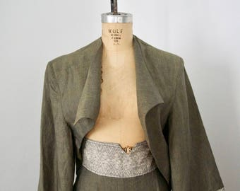 Xiao Studio Avant Garde Cropped Jacket