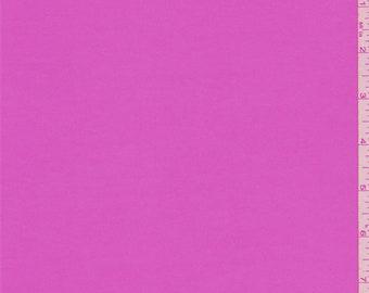 Pink Lipstick Stretch Twill, Fabric By The Yard