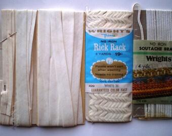 Vintage Rick Rack - Soutache Braid -Bias Tape