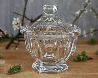 Sugar bowl in Baccarat crystal Harcourt / Missouri model