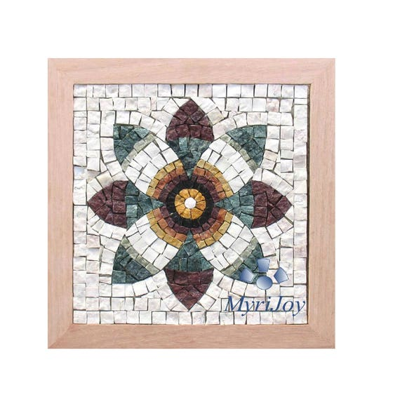 Diy roman mosaics kit for adults pomegranate flower marble mosaic diy roman mosaics kit for adults pomegranate flower marble mosaic tiles do it yourself craft gift idea women feng shui wall art wealth from myrijoy on solutioingenieria Choice Image