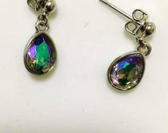 Swarovski paradis shines drop earrings