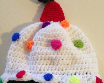 First Birthday Hat | Crochet Hat | Newborn Gift | Photo Prop Hat | Character Hat | Child Character Hat | Winter Hat | Knitted Hat | Handmade